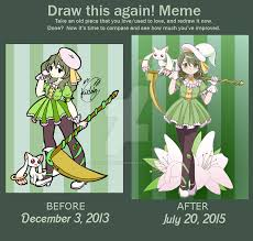 Magi Memes - draw this again puella magi hitomi magica by kiddysa bunnpire on
