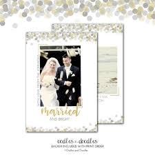 Newly Wed Christmas Card Newlywed Christmas Card Married Christmas Card Married And