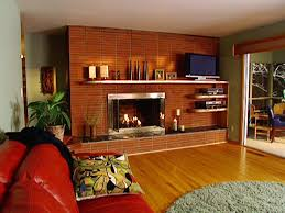 How To Lay Brick Fireplace by How To Install A Floating Mantel How Tos Diy