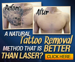 some effective ways to remove tattoos naturally at home home