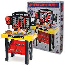 my first workbench toy kids tool kit bench work station item