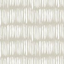 Light Grey Color by Hand Drawn Striped Seamless Pattern With Short Vertical