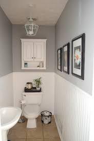 Diy Powder Room Remodel - how to update a very boring powder room frugal homemaker diy
