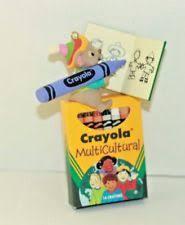 hallmark crayola ornaments ebay