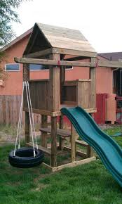 Small Backyard Swing Sets by Excellent Small Backyard Swing Set Photo Decoration Inspiration