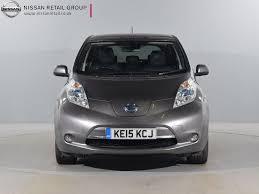 nissan leaf pcp deals used nissan for sale leaf tekna auto 24kwh grey nissan london west