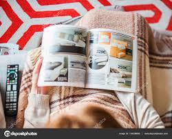 Buying Bedroom Furniture Reading Ikea Catalog Buying Bedroom Furniture Stock