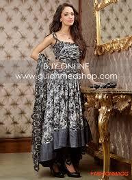 dress design umbrella gul ahmed lawn eid collection dresses designs 2014 anarkali umbrella