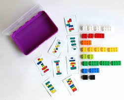 Fun Games For Kids At Home by Diy Portable Lego Kit With 24 Free Printable Activity Cards