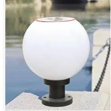 Outdoor Globe Light Outdoor Globe Dia 250mm 1 2w 6v 1200mah Solar Post Light Pillar