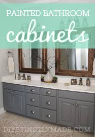 painted bathroom cabinets ideas best 25 painted bathroom cabinets ideas on bathroom