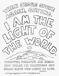 jesus is the light of the world activities for kids kids