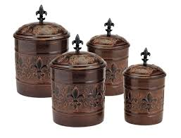 Colorful Kitchen Canisters Sets Old Dutch Versailles 4 Piece Kitchen Canister Set U0026 Reviews Wayfair