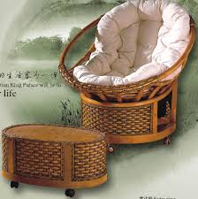 Papasan Patio Chair Dining Room Appealing Papasan Chair With American Rattan Material
