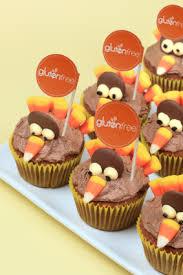 gluten free thanksgiving turkey cupcake gluten free labels