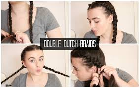 How To Do Easy Hairstyles Step By Step by Double Dutch Braids Quick U0026 Easy Hairstyles Youtube