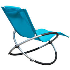 Folding Rocking Chair Outdoor Orbital Zero Gravity Folding Rocking Patio Lounge Chair