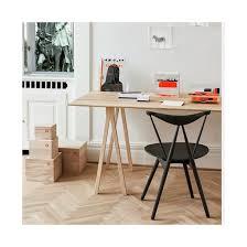 Copenhagen Desk Nomess 4 Dots Table Black Stained Ash 200 Cm Nomess