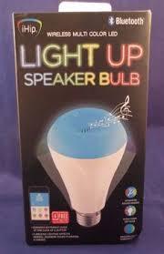 led light bulb speaker smart light bulb doubles as bluetooth speaker light bulb
