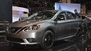 nissan altima 2017 black edition nissan sentra sr midnight edition showcased at 2017 chicago auto