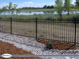ornamental wrought iron fence bonnell fencing services