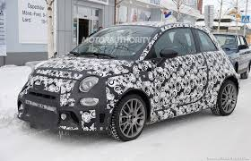 fiat 500 2017 fiat 500 abarth spy shots