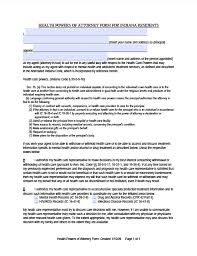 indiana minor child power of attorney form power of attorney