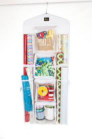 Kitchen Wrap Organizer by Zuitcase Vertical Wrapping Paper Organizer Dual Sided Gift Wrap