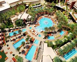 Pool In The Backyard by 10 Of The Most Awesome Hotel Pools In Vegas Las Vegas Blogs