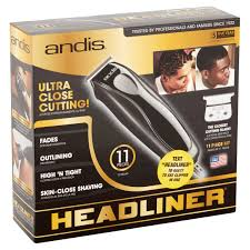 andis headliner home haircutting kit 11 piece walmart com