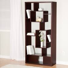 modern white furniture book shelf that can be applied inside the