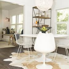 Best  Cowhide Rug Kitchen Ideas Only On Pinterest Mid Century - Round dining room rugs