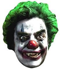 killer clown mask killer clown scary card mask co uk