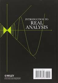 buy introduction to real analysis book online at low prices in