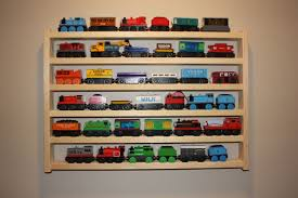 train rack basic thomas tank wooden train display and