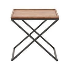 Metal And Wood Sofa Table by Cole U0026 Grey Metal And Wood End Table U0026 Reviews Wayfair