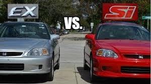 difference between honda civic lx and ex buy honda civic si ex lx dx racing lug nuts 12x1 5 lockable black