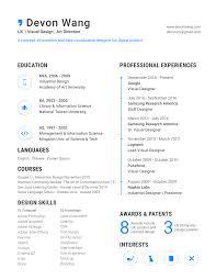 resume u2014 devon wang