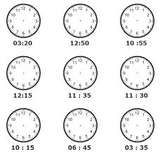 time telling worksheets free worksheets library download and