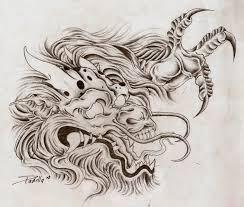 download dragon tattoo head danielhuscroft com