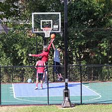 Basketball Court In The Backyard Home Backyard Basketball Court Tennis Courts Putting Greens
