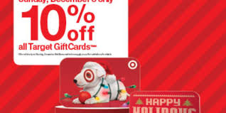 10 gift cards savings alert don t miss target s gift card sale dec 3