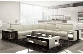 canapé d angle en cuir luxe italien 5 6 places xerus cuir haut de