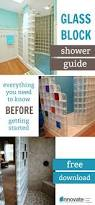 best 25 glass block installation ideas on pinterest glass block