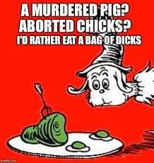 Dr Seuss Memes - if dr seuss was vegan imgflip