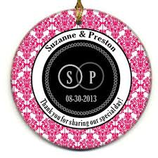 best 25 ornament wedding favors ideas on