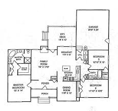 small ranch style home plans open house plans with large kitchens single dining houses big for