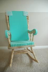 Maternity Rocking Chairs White Cushion Rocking Chair Cushions Decoration
