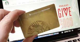 starbuck gold card starbucks rewards members earn gold status for entire year w just