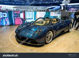 pagani zonda 2017 geneva 2017 pagani huayra roadster car stock photo 626094650